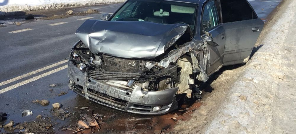 PILNE: Wypadek na Lipińskiego! Droga zablokowana! (VIDEO, FOTO)