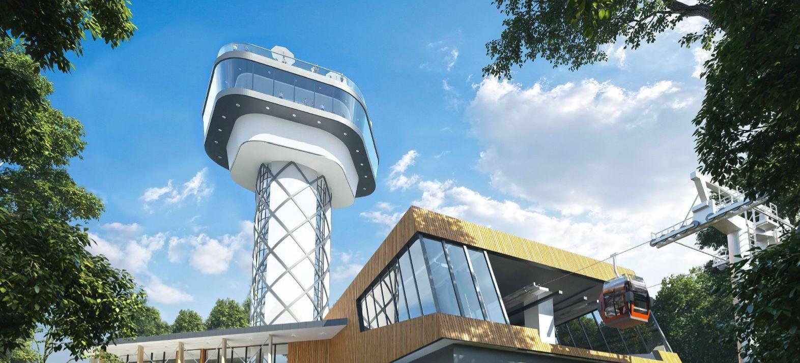 Tak będzie wyglądać kolejka gondolowa i wieża widokowa nad Soliną! (ZDJĘCIA)