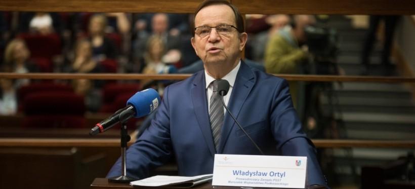 RZESZÓW. Marszałek Ortyl proponuje zmiany w ustawie. Chodzi o parkingi na odpady niebezpieczne
