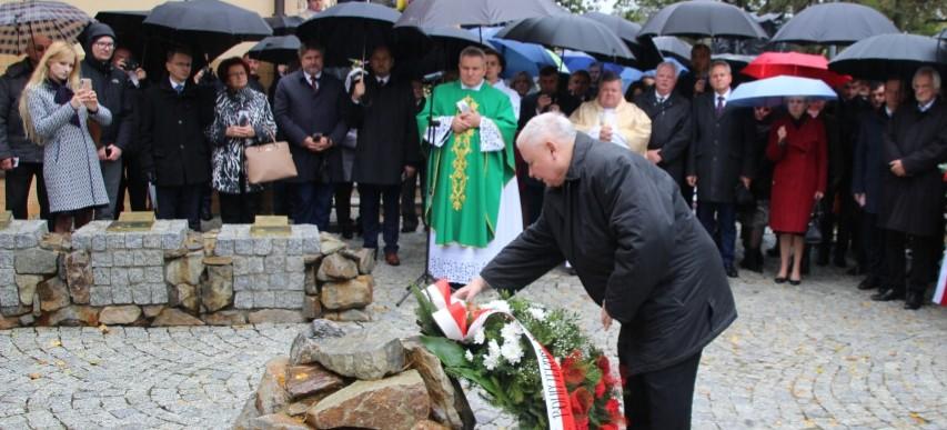 Patriotycznie w Strachocinie. Wizyta Jarosława Kaczyńskiego (VIDEO, FOTO)