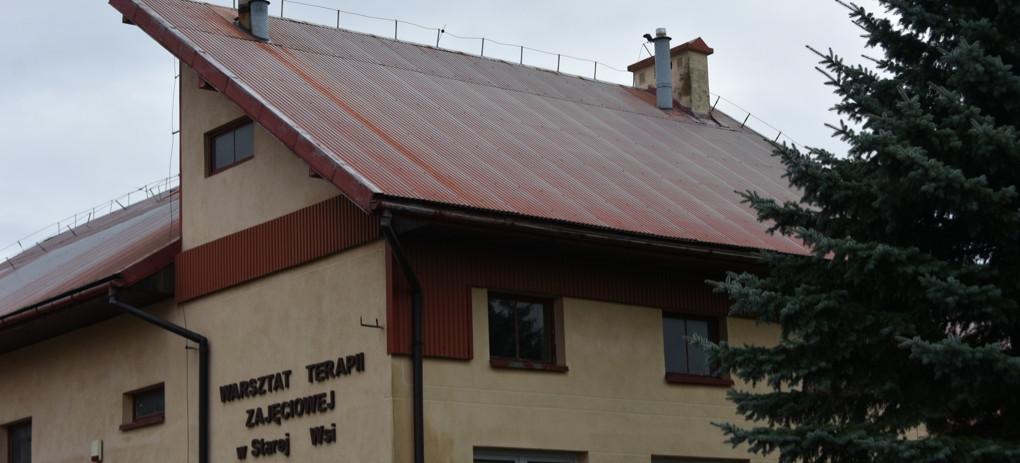 Umowa podpisana. WTZ wStarej Wsi doczeka się remontu dachu