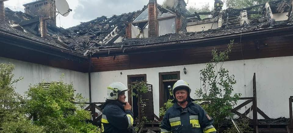 Pożar pensjonatu. Straty na 1,5 mln złotych. NOWE INFORMACJE (VIDEO, ZDJĘCIA)