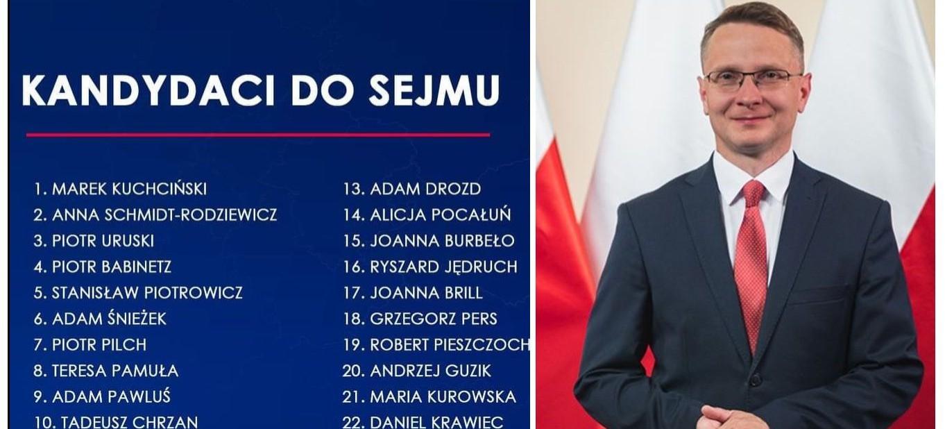 PiS ogłosiło listy kandydatów. Realna szansa na posła z naszego terenu (FOTO)