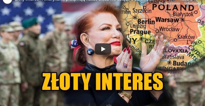 ZŁOTY INTERES –  Czy Amerykanie przejmują nasze złoża nie dbając o polskie bezpieczeństwo?