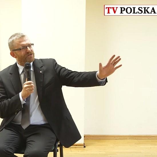 www.tvPolska.pl GRZEGORZ BRAUN w Przemyślu (VIDEO)