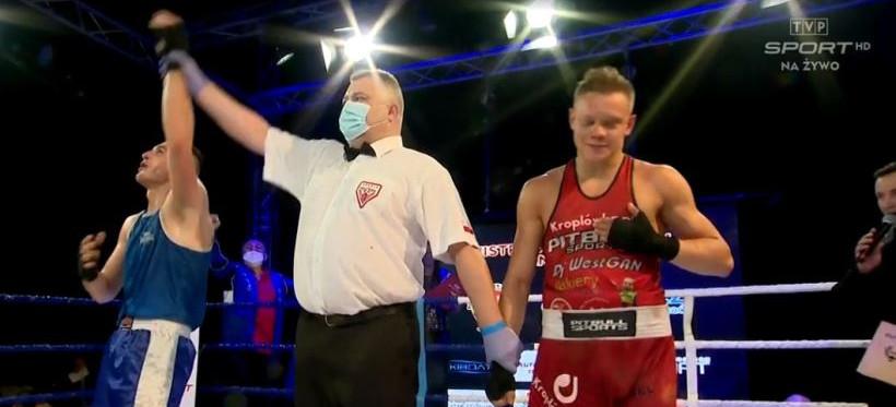 Zawodnik Wisłoka Rzeszów mistrzem Polski w boksie!
