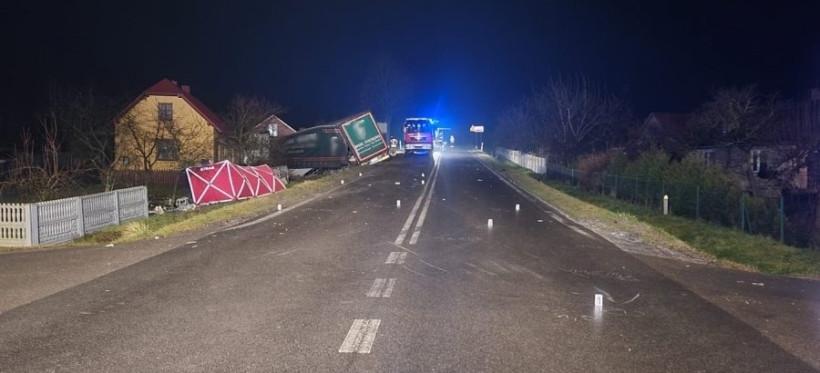 PODKARPACIE. Dwa tragiczne wypadki. 3 osoby nie żyją! (FOTO)