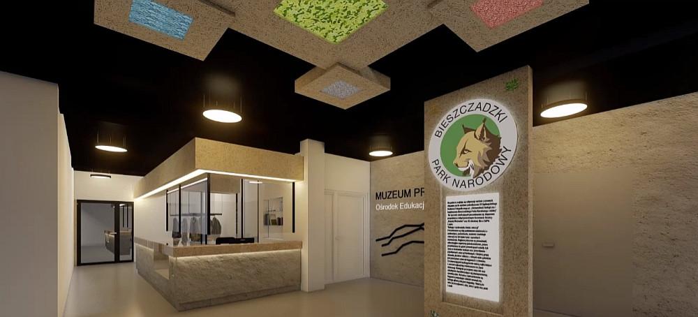 Modernizacja Muzeum Przyrodniczego BdPN (WIZUALIZACJA)