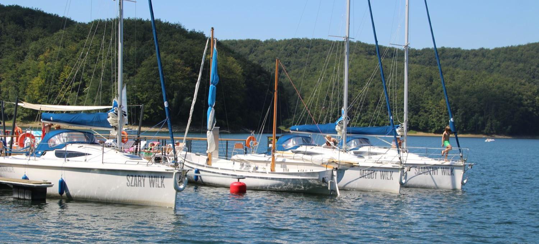 Walka o czyste bieszczadzkie morze! Gmina Solina ze strategią dla żeglarzy (VIDEO, ZDJĘCIA)
