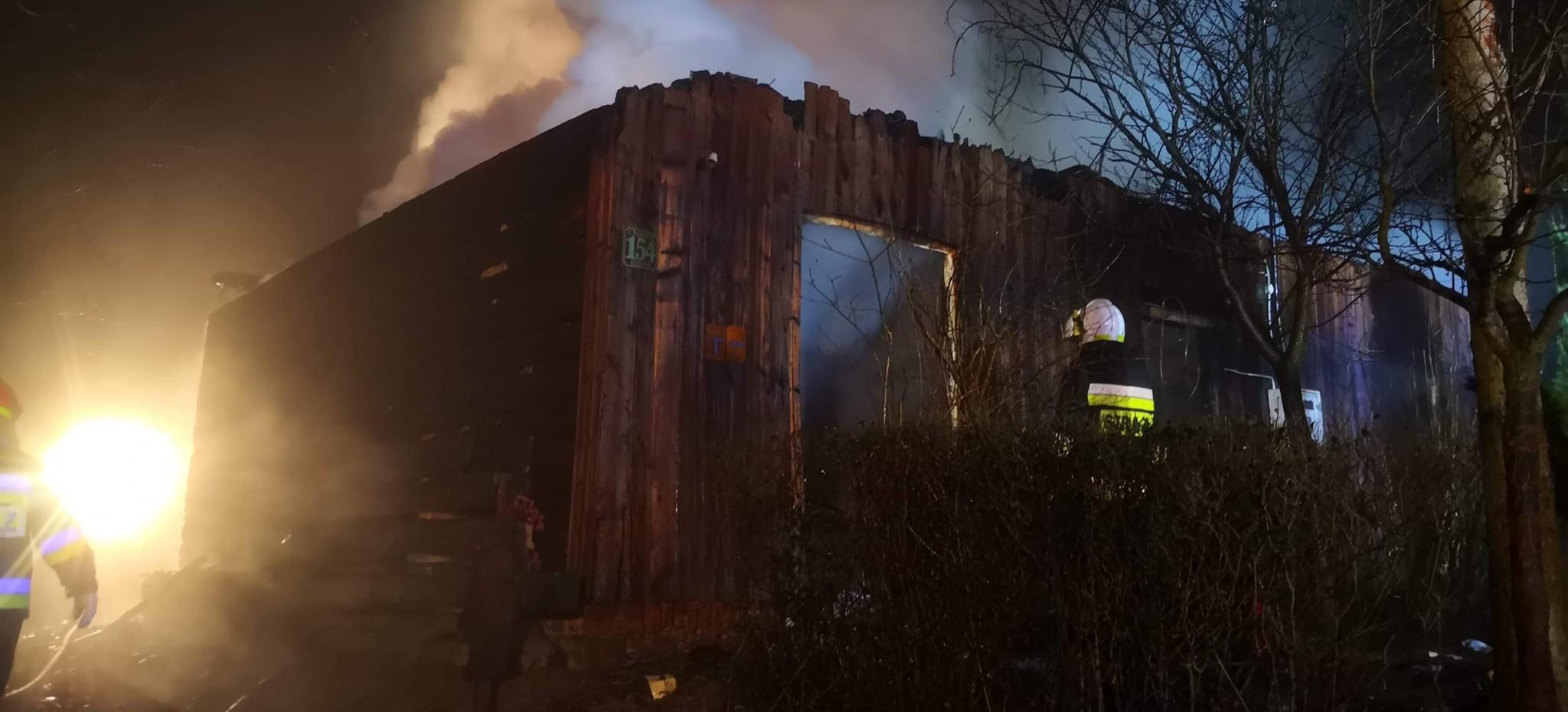ALBIGOWA. Tragiczny pożar! Nie żyje 65-latek (FOTO, WIDEO)