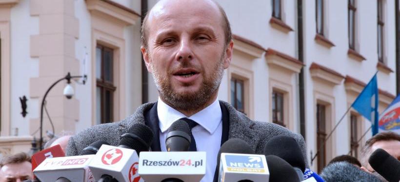 Konrad Fijołek  rozpoczyna spotkania z mieszkańcami Rzeszowa
