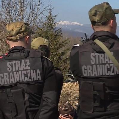 Afrykańczycy nielegalnie przekroczyli granicę państwa z Ukrainy do Polski