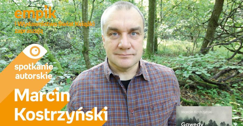 Marcin Kostrzyński 12 grudnia w rzeszowskim Empiku
