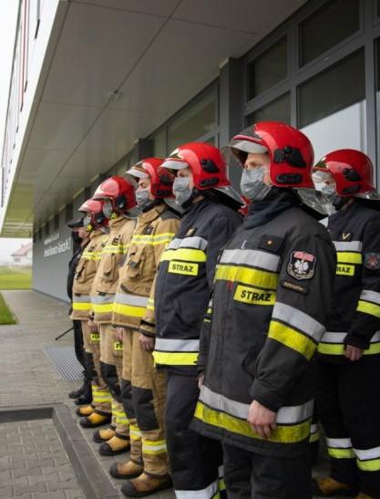 RZESZÓW. Na Dworzysku otwarto nową jednostkę straży pożarnej! (ZDJĘCIA)