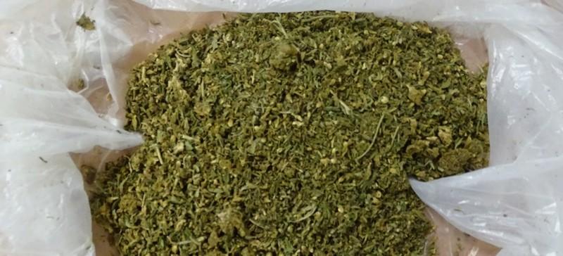 49-letni Ukrainiec przemycał marihuanę w bagażu (ZDJĘCIA)
