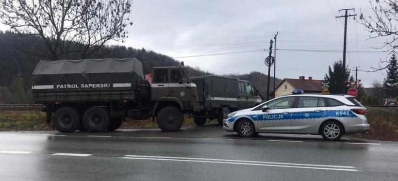 Niewybuchy we Frysztaku! Zablokowana droga wojewódzka nr 988! (FOTO)