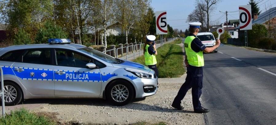 POLICJA: 21 kierowców straciło prawo jazdy za przekroczenie prędkości