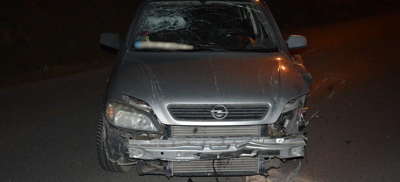 Pijany kierowca opla sprawcą kolizji (FOTO)
