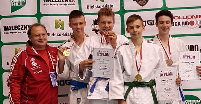 Kolejne medale młodych judoków Millenium Rzeszów (FOTO)