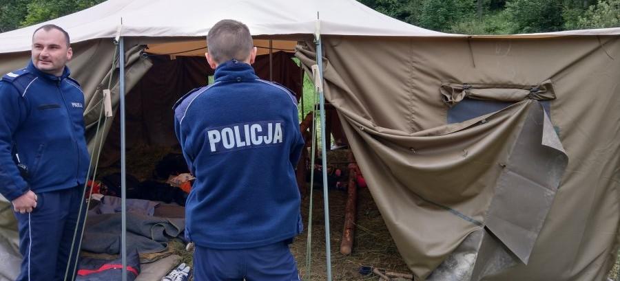 Pierwsi harcerze już wypoczywają w Bieszczadach (FOTO)