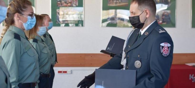 Nowi funkcjonariusze w szeregach podkarpackiej KAS (VIDEO, FOTO)