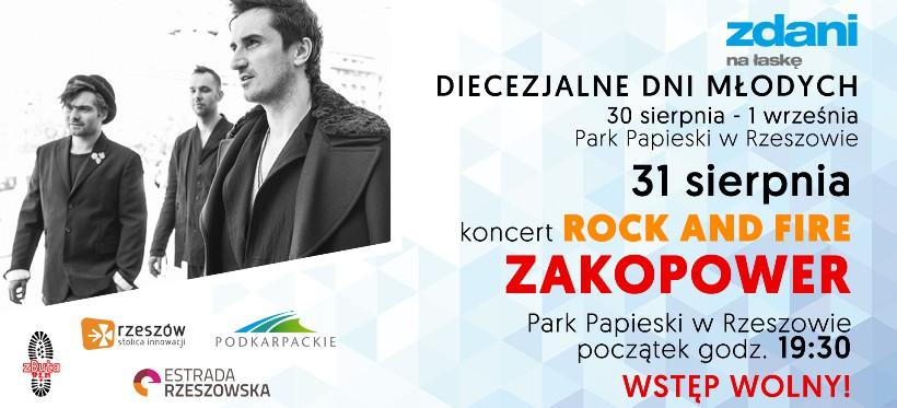 Koncert zespołu Zakopower 31 sierpnia w Rzeszowie
