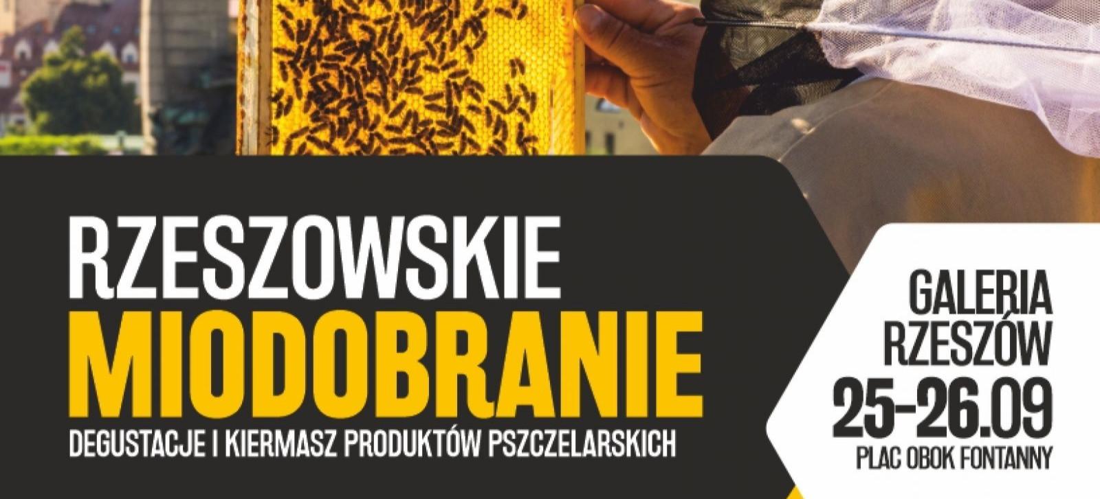 Rzeszowskie miodobranie – degustacje i kiermasz produktów pszczelarskich