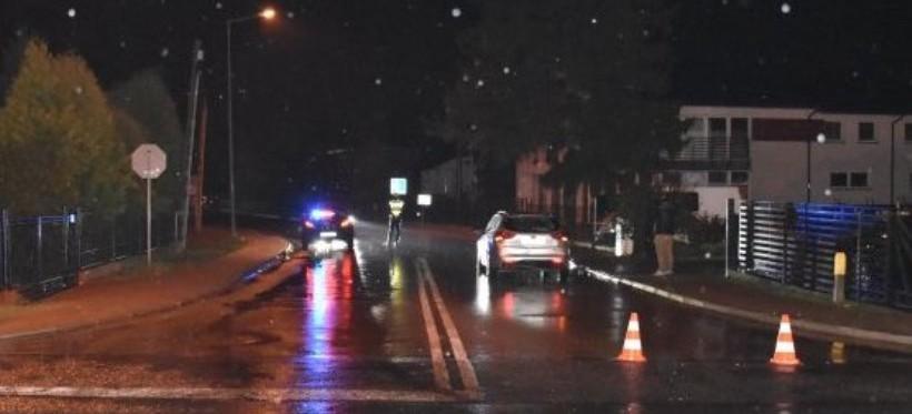 REGION: Potrącenie 16-latka w pobliżu drogi wojewódzkiej nr 877 (FOTO)