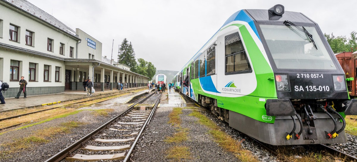 Ostatni, wakacyjny przejazd pociągiem z Rzeszowa do Medzilaborzec. SPRAWDŹ!