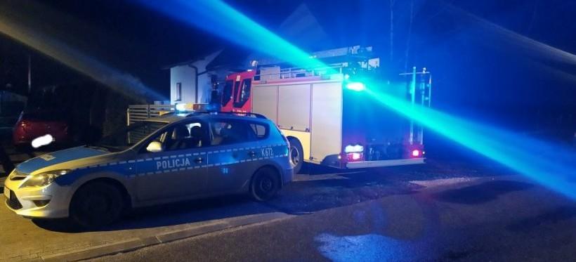 PODKARPACIE. Tragiczny pożar domu jednorodzinnego! Nie żyje 62-latka