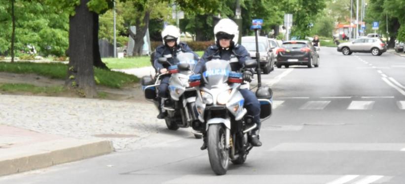 Policyjny pościg za pędzącym motocyklistą. 39-latek pijany
