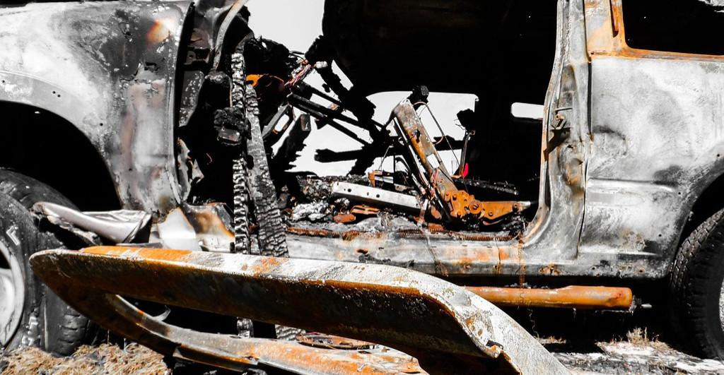 Pożar w Kostarowcach. Służby w akcji