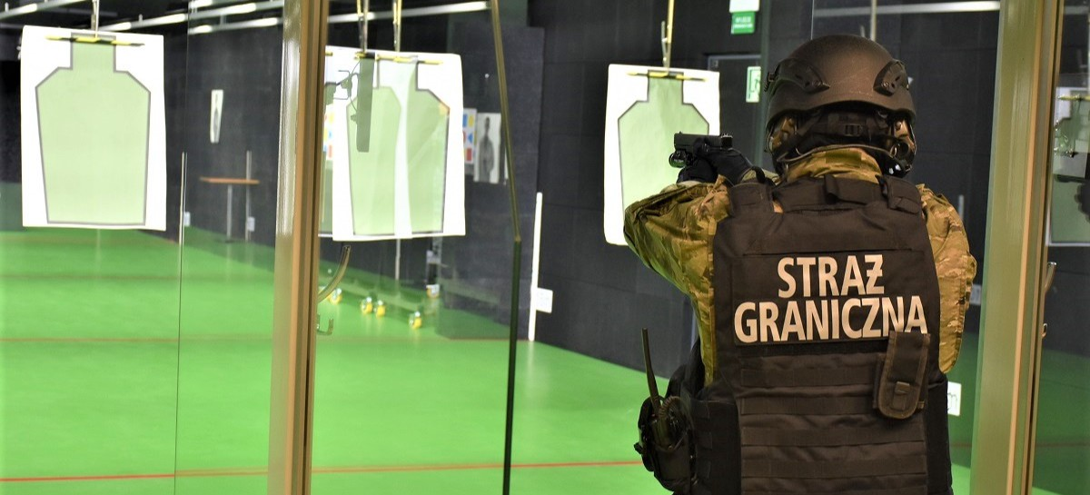 Podkarpaccy strażnicy graniczni mają najnowocześniejszą strzelnicę w Polsce! (ZDJĘCIA)