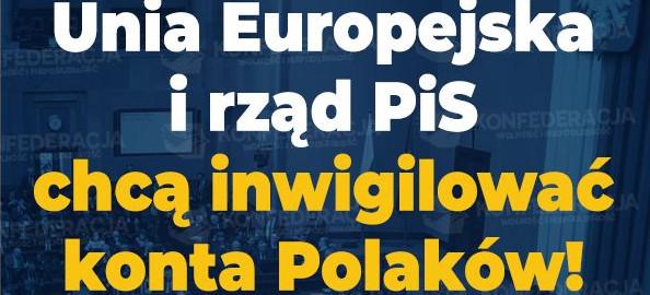 PiS chce inwigilować konta Polaków! (VIDEO)