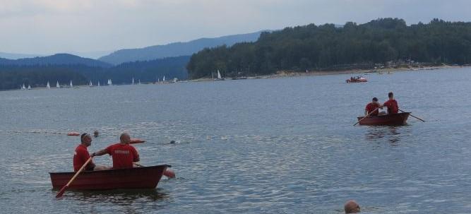 BIESZCZADY: Pokazy ratownictwa wodnego (VIDEO, FOTO)