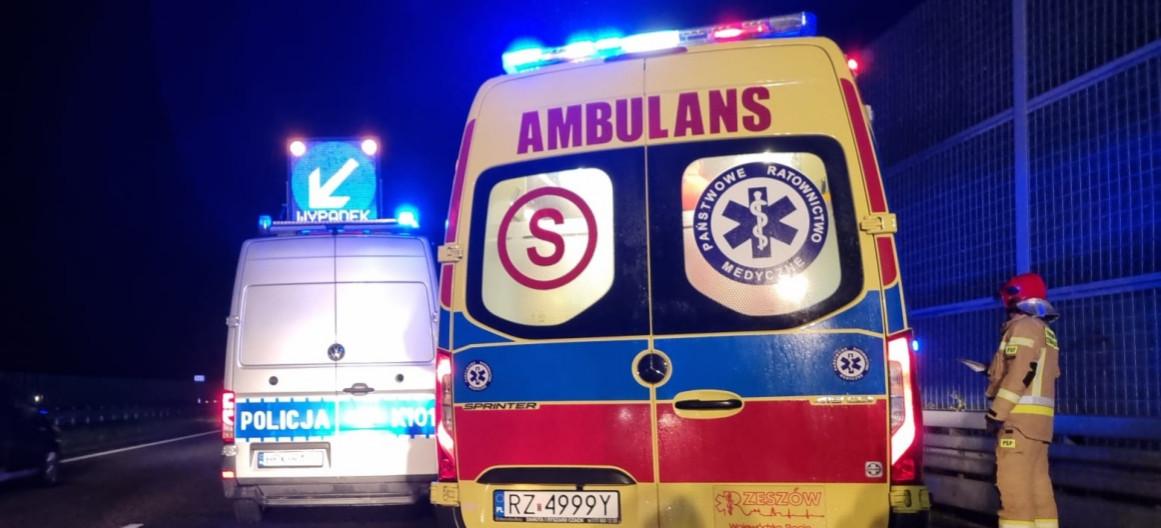 Ratownicy medyczni zatrzymali pijanego kierowcę i zabrali mu kluczyki