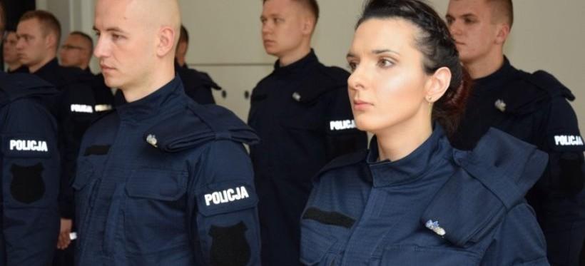 RZESZÓW: 19 nowo przyjętych policjantów złożyło ślubowanie (FOTO)