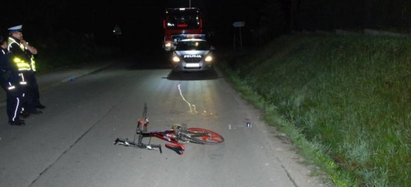 REGION: Rowerzysta śmiertelnie potrącił pieszego!