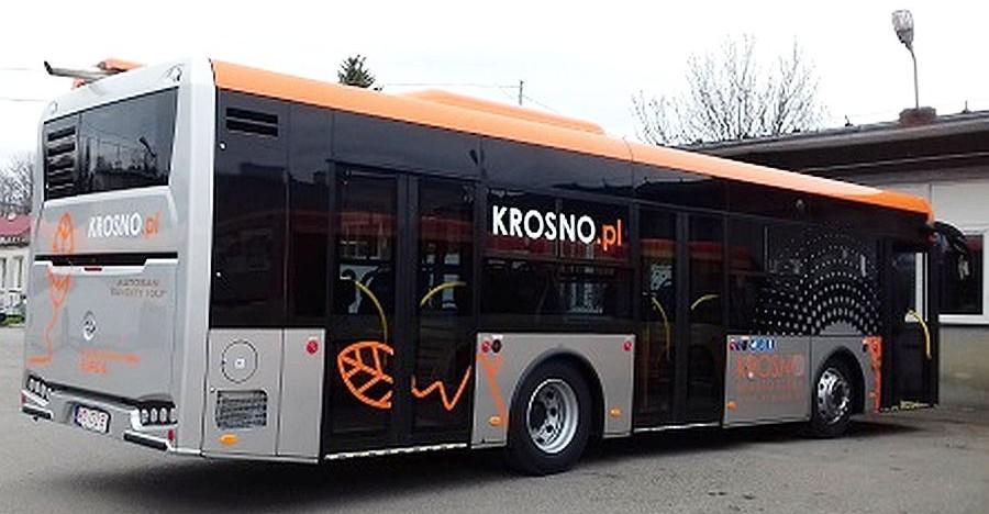 Autosan dostarczył autobusy dla Krosna