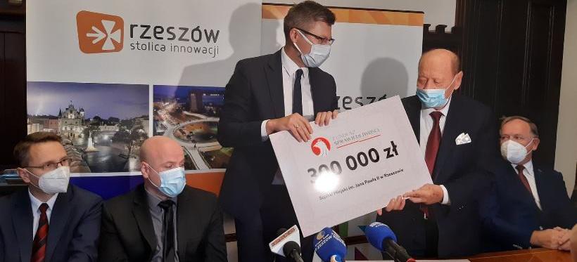 Pieniądze dla rzeszowskich szpitali! Dofinansowanie z Funduszu Sprawiedliwości