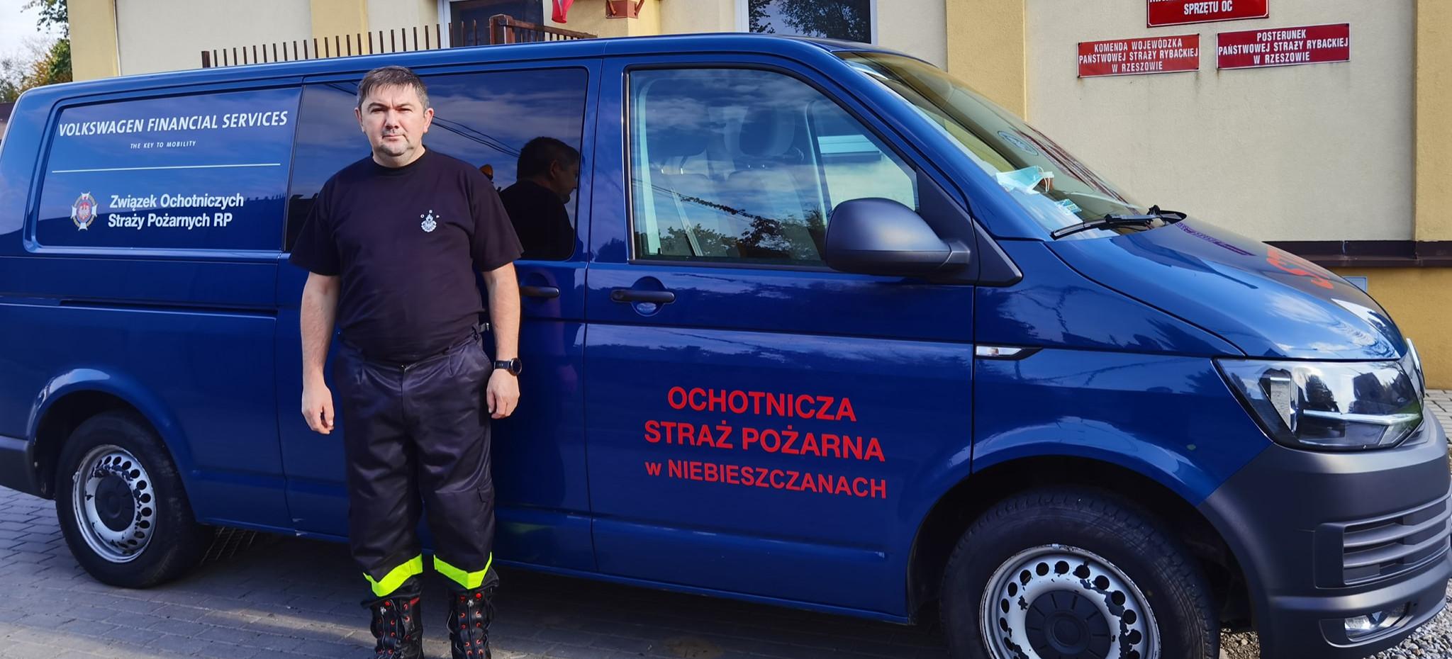 Strażacy z Niebieszczan chcą wozić ozdrowieńców z Sanoka do Rzeszowa. Za darmo!