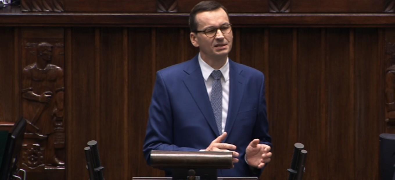 Wotum zaufania dla Rządu? Mateusz Morawiecki, emocjonalne wystąpienie (VIDEO)