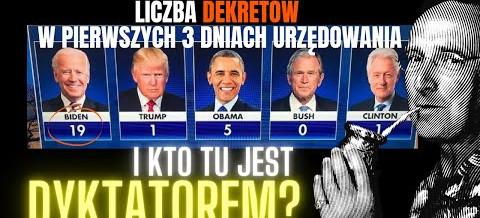 Wojciech Cejrowski: Pierwsze 17 dekretów Bidena to odwracanie polityki Trumpa