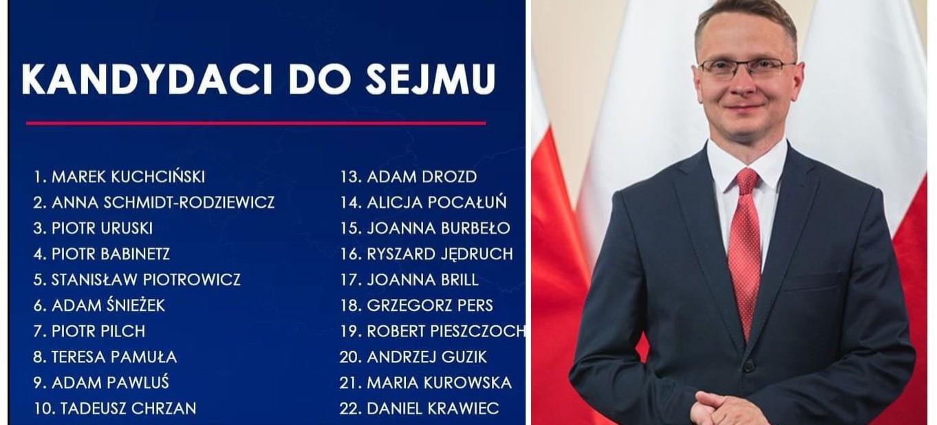 PiS ogłosiło listy kandydatów. Realna szansa na posła z Sanoka (FOTO)