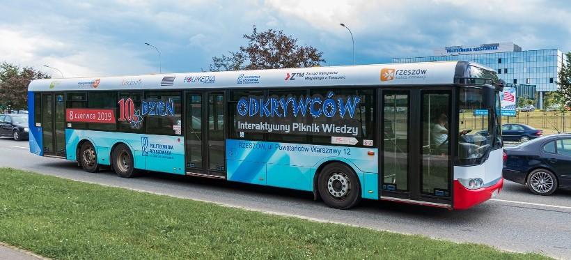 Mobilne laboratorium fizyczne w autobusie MPK? Ciekawa inicjatywa PRz