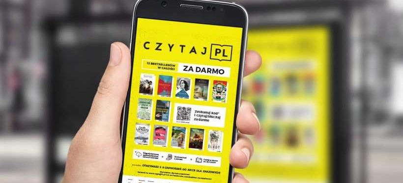 Akcja promująca czytelnictwo w Rzeszowie! 12 bestsellerów dostępnych za darmo