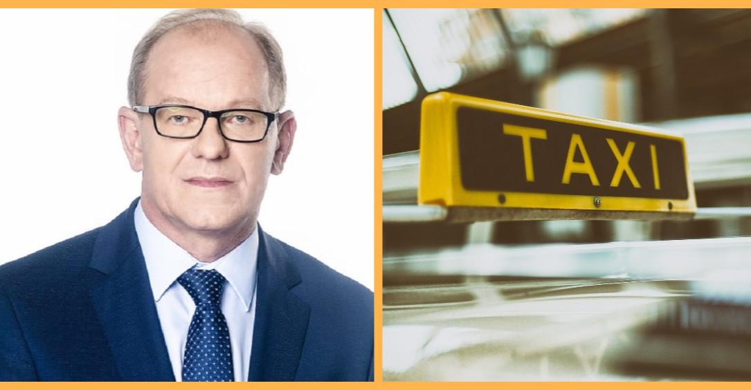 Poseł Lewicy walczy o taksówkarzy!