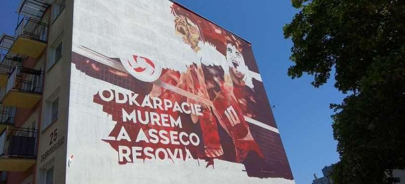 RZESZÓW: Na ulicy Dąbrowskiego powstaje nowy mural! (FOTO)