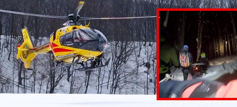 Przy lodospadach zmarł mężczyzna. Dużo akcji GOPR-owców (FOTO)