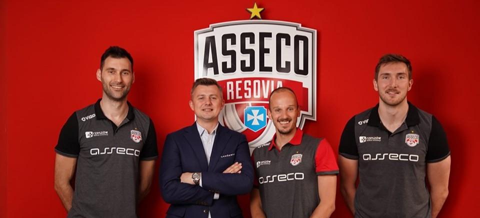 Trzech nowych siatkarzy w Asseco Resovii. Powrót Grzegorza Kosoka!